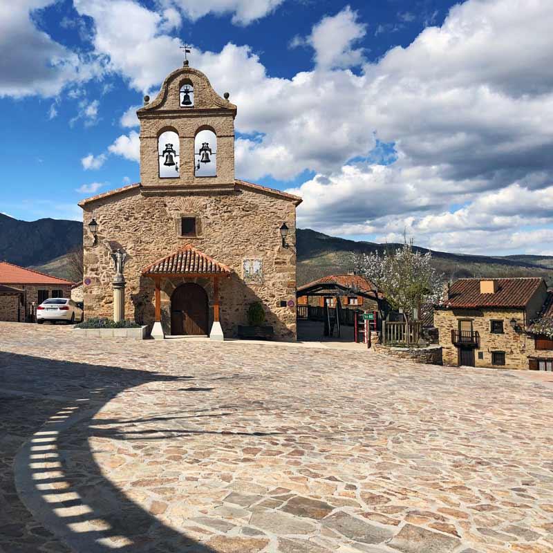 Iglesia de la La Hiruela
