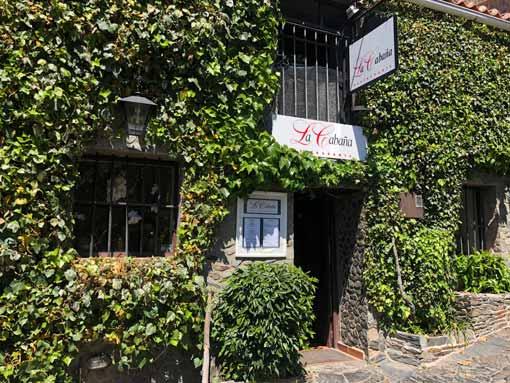 restaurante la Cabaña de Patones