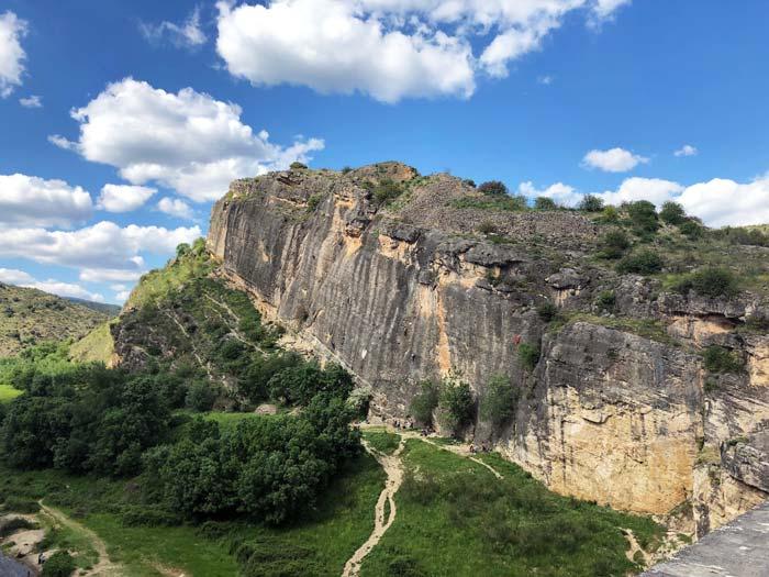 Escalada en el Pontón de la Oliva Guadalajara